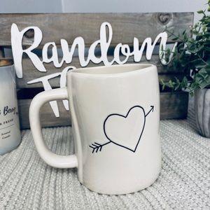 NWT Rae Dunn I'M YOURS 💘 Double Sided Mug